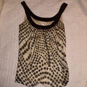 MILLY silk sleeveless blouse